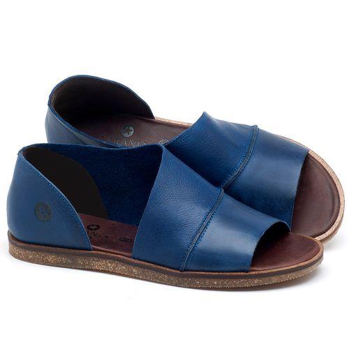 Laranja_Lima_Shoes_Sapatos_Femininos_Sandalia_Rasteira_Flat_em_Couro_Azul_-_Codigo_-_141055_1