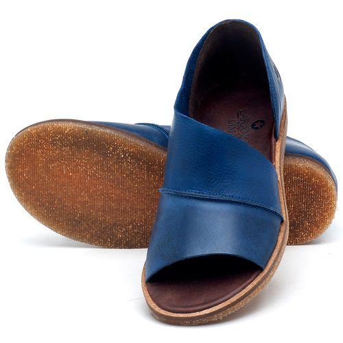 Laranja_Lima_Shoes_Sapatos_Femininos_Sandalia_Rasteira_Flat_em_Couro_Azul_-_Codigo_-_141055_2