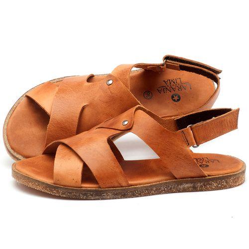 Laranja_Lima_Shoes_Sapatos_Femininos_Sandalia_Rasteira_Flat_em_Couro_Caramelo_-_Codigo_-_141057_1