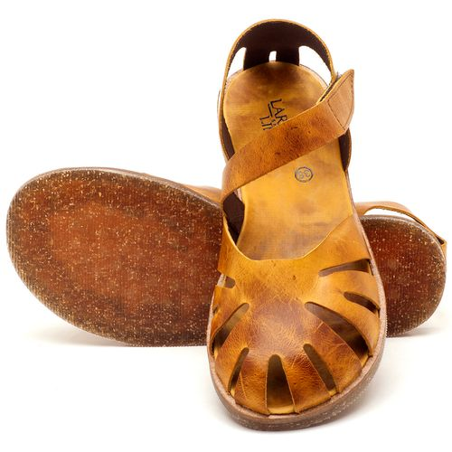 Laranja_Lima_Shoes_Sapatos_Femininos_Sandalia_Rasteira_Flat_em_Couro_Amarelo_-_Codigo_-_141061_2