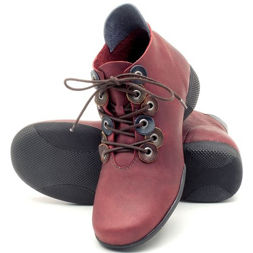 Laranja_Lima_Shoes_Sapatos_Femininos_Flat_Boot_em_Couro_Vinho_-_Codigo_-_141063_2