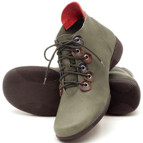 Laranja_Lima_Shoes_Sapatos_Femininos_Flat_Boot_em_Couro_Musgo_-_Codigo_-_141063_2