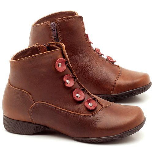 Laranja_Lima_Shoes_Sapatos_Femininos_Flat_Boot_em_Couro_Marrom_-_Codigo_-_141064_1