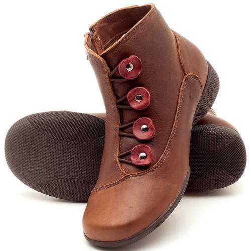 Laranja_Lima_Shoes_Sapatos_Femininos_Flat_Boot_em_Couro_Marrom_-_Codigo_-_141064_2