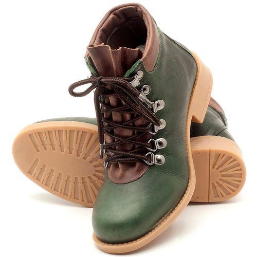 Laranja_Lima_Shoes_Sapatos_Femininos_Bota_Cano_Curto_em_Couro_Verde_-_Codigo_-_141065_2