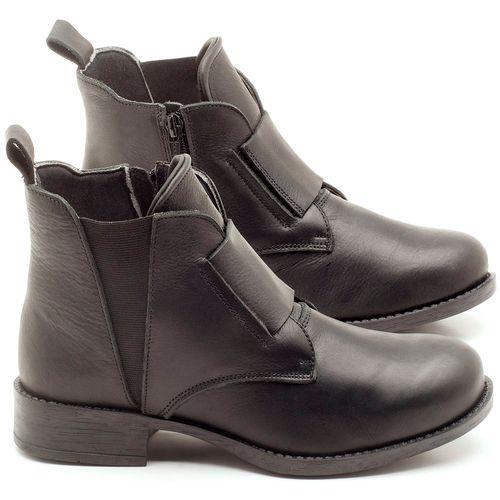 Laranja_Lima_Shoes_Sapatos_Femininos_Bota_Cano_Curto_em_Couro_Preto_-_Codigo_-_141067_1
