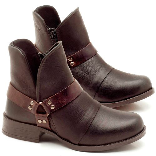 Laranja_Lima_Shoes_Sapatos_Femininos_Bota_Cano_Curto_Salto_de_2_cm_em_Couro_Preto_-_Codigo_-_141068_1