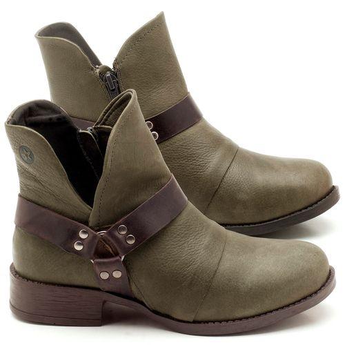 Laranja_Lima_Shoes_Sapatos_Femininos_Bota_Cano_Curto_Salto_de_2_cm_em_Couro_Musgo_-_Codigo_-_141068_1