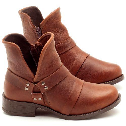 Laranja_Lima_Shoes_Sapatos_Femininos_Bota_Cano_Curto_Salto_de_2_cm_em_Couro_Marrom_-_Codigo_-_141068_1