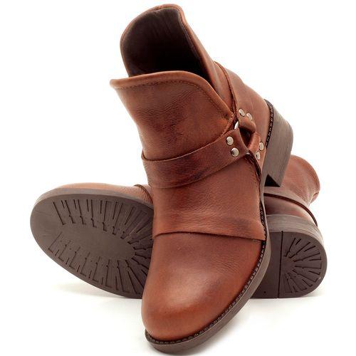 Laranja_Lima_Shoes_Sapatos_Femininos_Bota_Cano_Curto_Salto_de_2_cm_em_Couro_Marrom_-_Codigo_-_141068_2