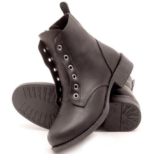 Laranja_Lima_Shoes_Sapatos_Femininos_Bota_Cano_Curto_Salto_de_2_cm_em_Couro_Preto_-_Codigo_-_141069_2