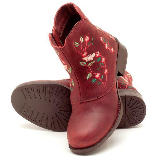 Laranja_Lima_Shoes_Sapatos_Femininos_Bota_Cano_Curto_em_Couro_Vinho_-_Codigo_-_141071_2