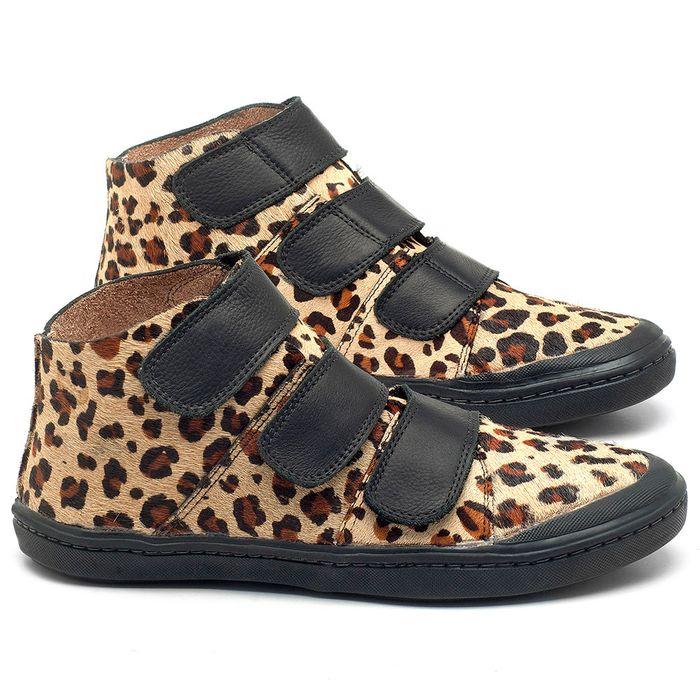Laranja_Lima_Shoes_Sapatos_Femininos_Tenis_Cano_Alto_em_Couro_Onca_-_Codigo_-_141072_1