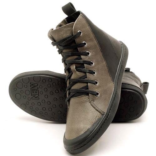 Laranja_Lima_Shoes_Sapatos_Femininos_Tenis_Cano_Alto_em_Couro_Musgo_-_Codigo_-_141075_2