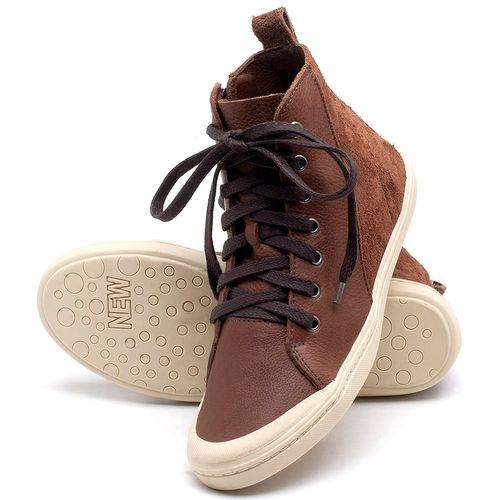 Laranja_Lima_Shoes_Sapatos_Femininos_Tenis_Cano_Alto_em_Couro_Marrom_-_Codigo_-_141075_2