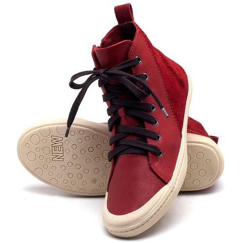 Laranja_Lima_Shoes_Sapatos_Femininos_Tenis_Cano_Alto_em_Couro_Vermelho_-_Codigo_-_141075_2