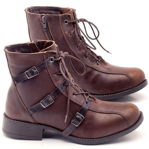 Laranja_Lima_Shoes_Sapatos_Femininos_Bota_Cano_Curto_em_Couro_Marrom_-_Codigo_-_141077_1