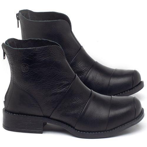 Laranja_Lima_Shoes_Sapatos_Femininos_Bota_Cano_Curto_em_Couro_Preto_-_Codigo_-_141079_1