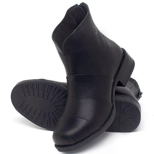 Laranja_Lima_Shoes_Sapatos_Femininos_Bota_Cano_Curto_em_Couro_Preto_-_Codigo_-_141079_2