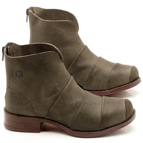 Laranja_Lima_Shoes_Sapatos_Femininos_Bota_Cano_Curto_em_Couro_Musgo_-_Codigo_-_141079_1