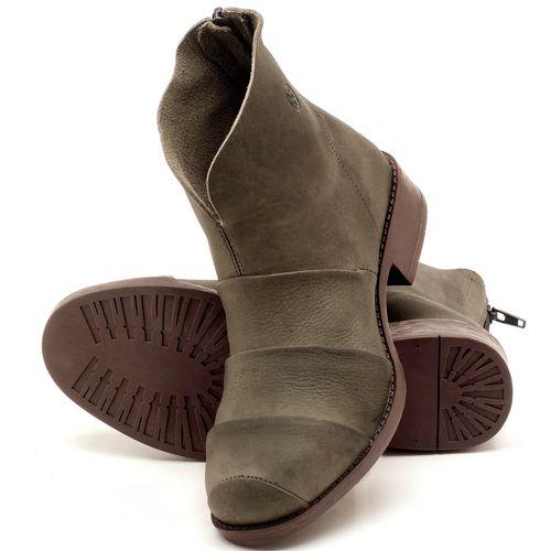 Laranja_Lima_Shoes_Sapatos_Femininos_Bota_Cano_Curto_em_Couro_Musgo_-_Codigo_-_141079_2