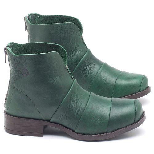 Laranja_Lima_Shoes_Sapatos_Femininos_Bota_Cano_Curto_em_Couro_Verde_-_Codigo_-_141079_1