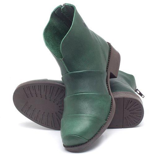 Laranja_Lima_Shoes_Sapatos_Femininos_Bota_Cano_Curto_em_Couro_Verde_-_Codigo_-_141079_2