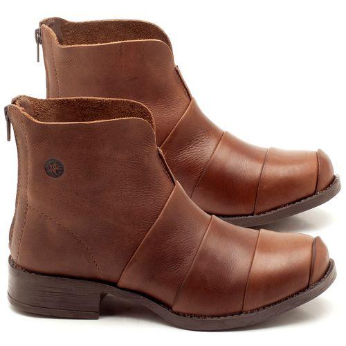 Laranja_Lima_Shoes_Sapatos_Femininos_Bota_Cano_Curto_em_Couro_Marrom_-_Codigo_-_141079_1