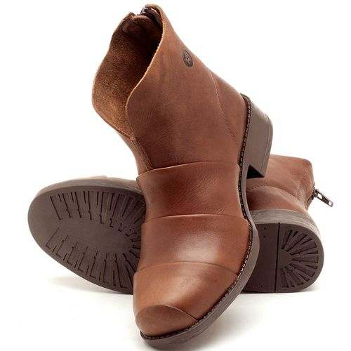 Laranja_Lima_Shoes_Sapatos_Femininos_Bota_Cano_Curto_em_Couro_Marrom_-_Codigo_-_141079_2