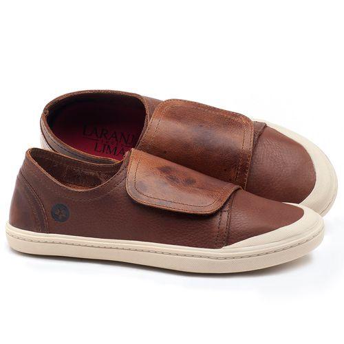 Laranja_Lima_Shoes_Sapatos_Femininos_Tenis_Cano_Baixo_em_Couro_Marrom_-_Codigo_-_141081_1