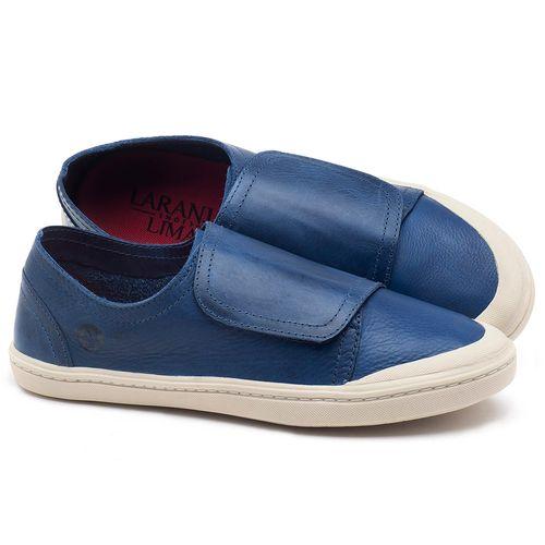 Laranja_Lima_Shoes_Sapatos_Femininos_Tenis_Cano_Baixo_em_Couro_Azul_-_Codigo_-_141081_1
