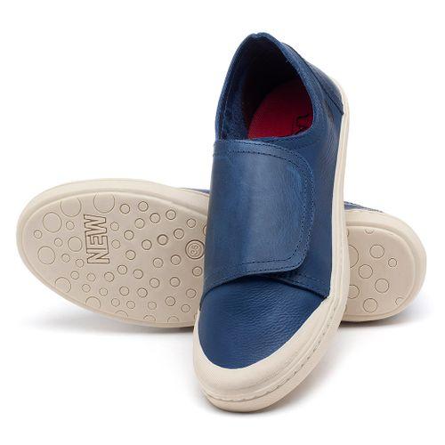 Laranja_Lima_Shoes_Sapatos_Femininos_Tenis_Cano_Baixo_em_Couro_Azul_-_Codigo_-_141081_2