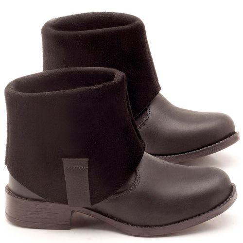 Laranja_Lima_Shoes_Sapatos_Femininos_Bota_Cano_Curto_Salto_de_2_cm_em_Couro_Preto_-_Codigo_-_141082_1