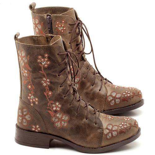 Laranja_Lima_Shoes_Sapatos_Femininos_Bota_Cano_Curto_Salto_de_2_cm_em_Couro_Verde_-_Codigo_-_141083_1