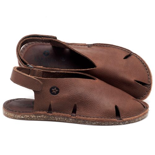 Laranja_Lima_Shoes_Sapatos_Femininos_Sandalia_Rasteira_Flat_em_Couro_Marrom_-_Codigo_-_141093_1