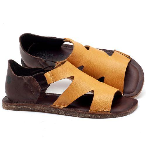Laranja_Lima_Shoes_Sapatos_Femininos_Sandalia_Rasteira_Flat_em_Couro_Amarelo_-_Codigo_-_141094_1