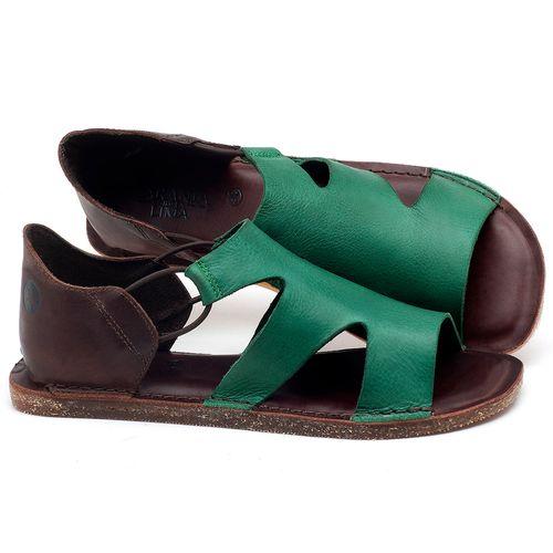 Laranja_Lima_Shoes_Sapatos_Femininos_Sandalia_Rasteira_Flat_em_Couro_Verde_-_Codigo_-_141094_1