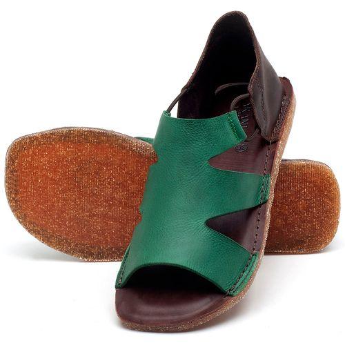 Laranja_Lima_Shoes_Sapatos_Femininos_Sandalia_Rasteira_Flat_em_Couro_Verde_-_Codigo_-_141094_2