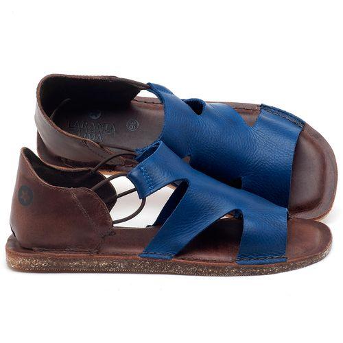 Laranja_Lima_Shoes_Sapatos_Femininos_Sandalia_Rasteira_Flat_em_Couro_Azul_-_Codigo_-_141094_1