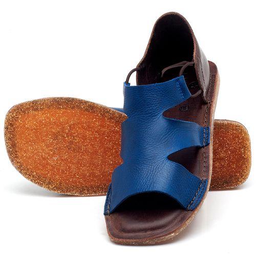 Laranja_Lima_Shoes_Sapatos_Femininos_Sandalia_Rasteira_Flat_em_Couro_Azul_-_Codigo_-_141094_2