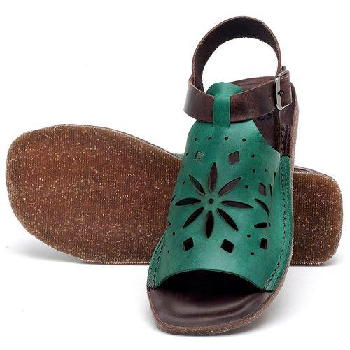Laranja_Lima_Shoes_Sapatos_Femininos_Sandalia_Rasteira_Flat_em_Couro_Verde_-_Codigo_-_141095_2