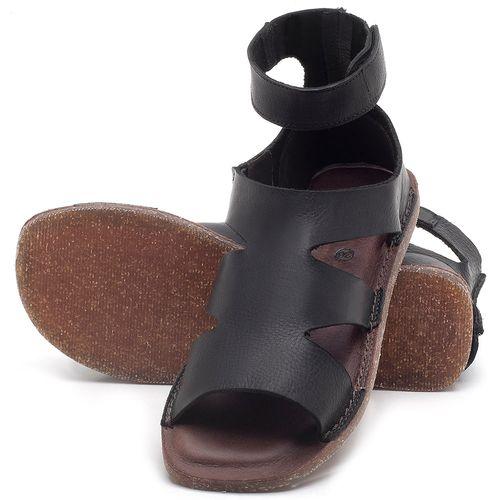 Laranja_Lima_Shoes_Sapatos_Femininos_Sandalia_Rasteira_Flat_em_Couro_Preto_-_Codigo_-_141096_2