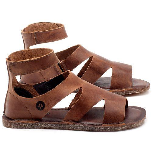 Laranja_Lima_Shoes_Sapatos_Femininos_Sandalia_Rasteira_Flat_em_Couro_Marrom_-_Codigo_-_141096_1