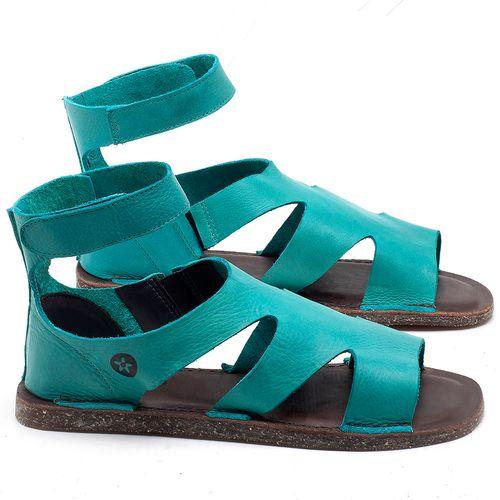 Laranja_Lima_Shoes_Sapatos_Femininos_Sandalia_Rasteira_Flat_em_Couro_Azul_-_Codigo_-_141096_1