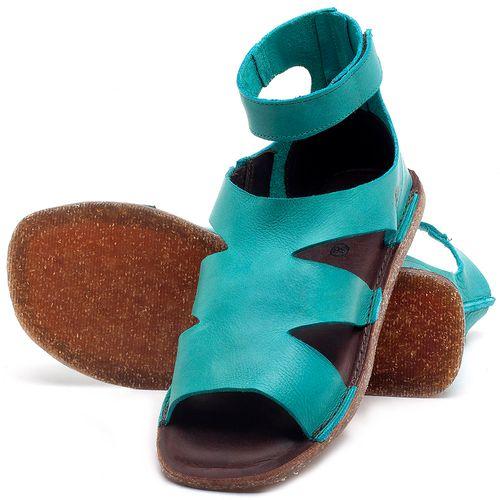 Laranja_Lima_Shoes_Sapatos_Femininos_Sandalia_Rasteira_Flat_em_Couro_Azul_-_Codigo_-_141096_2