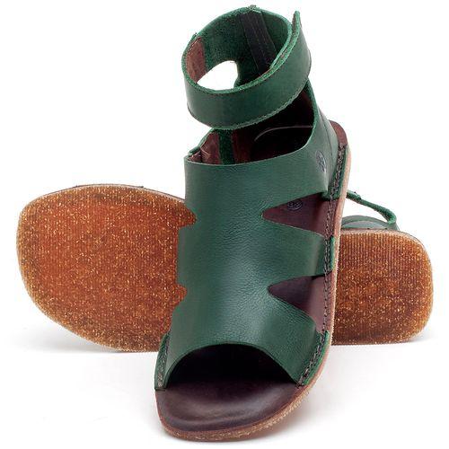 Laranja_Lima_Shoes_Sapatos_Femininos_Sandalia_Rasteira_Flat_em_Couro_Verde_-_Codigo_-_141096_2
