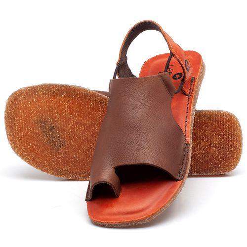 Laranja_Lima_Shoes_Sapatos_Femininos_Sandalia_Rasteira_Flat_em_Couro_Marrom_-_Codigo_-_141097_2
