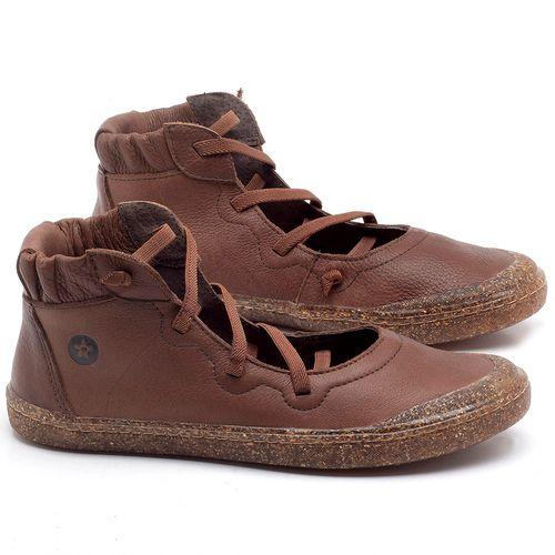 Laranja_Lima_Shoes_Sapatos_Femininos_Tenis_Cano_Alto_em_Couro_Marrom_-_Codigo_-_141101_1