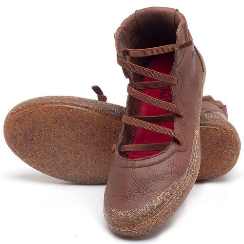 Laranja_Lima_Shoes_Sapatos_Femininos_Tenis_Cano_Alto_em_Couro_Marrom_-_Codigo_-_141101_2