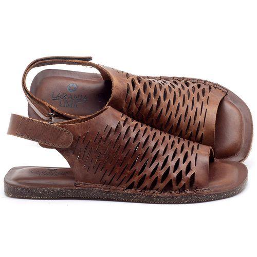 Laranja_Lima_Shoes_Sapatos_Femininos_Sandalia_Rasteira_Flat_em_Couro_Marrom_-_Codigo_-_141106_1